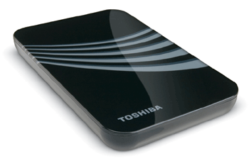 TOSHIBA EXPANDS PERSONAL STORAGE LINE WITH 400GB EXTERNAL HDD