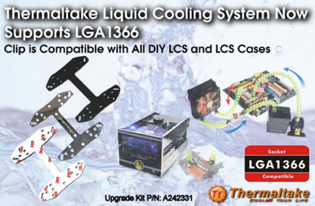 Thermaltake makes Core i7 upgrade clip for coolers