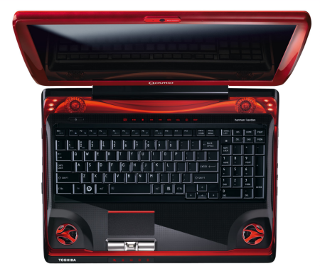 Toshiba intro high-end Qosmio X300 gaming notebook