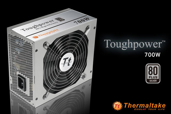 Thermaltake Toughpower 700W Reaches 80 PLUS Silver