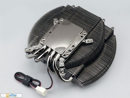 Zalman's VF2000 LED CPU/GPU cooler pictured