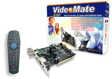 Compro Intro VideoMate S350 Sat TV Solution