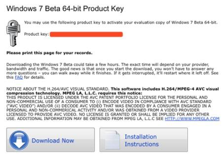 Free Windows 7 product keys - maybe some left