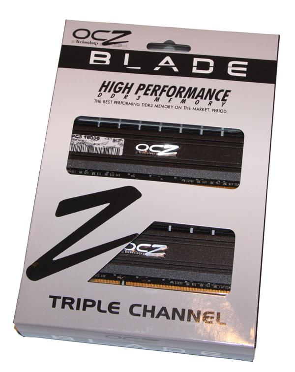 OCZ Blade PC3-16000 CAS 7 6GB Kit