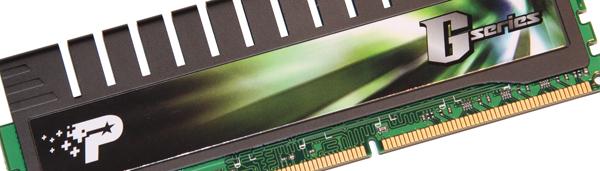 Patriot G Series PC3-12800 6GB Kit