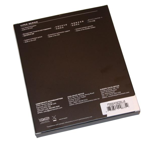 Patriot Viper II PC3-16000 6GB Kit
