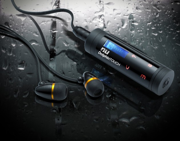 NU Unveils World's First Waterproof Curved Touch Pad MP3 Player - Dolphin Touch