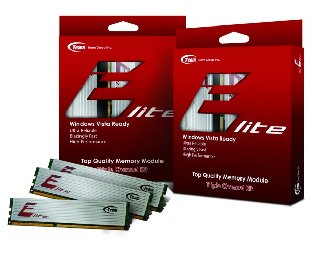 Team Group Announces its Latest Standard, 3-Channel Memory Device Series- Team Elite DDR3