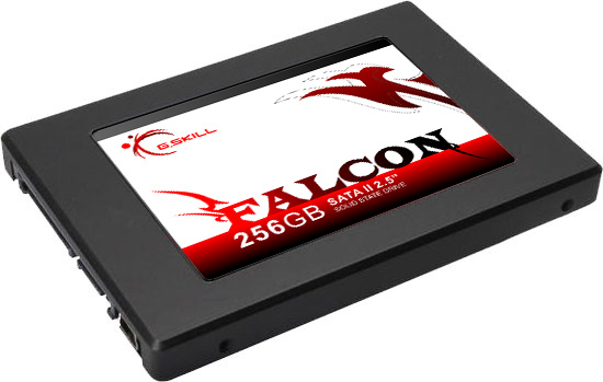 G.Skill Announces the Falcon SSD in 64GB to 256GB capacities using the latest Indilink controller