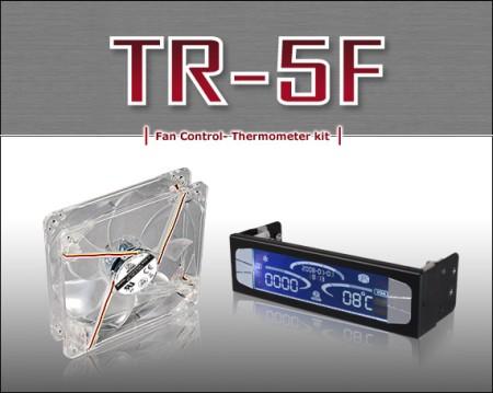 Lian Li launches the TR-5F Fan bus with Temperature Fan combo