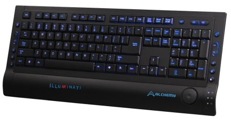 OCZ Technology Introduces Alchemy Illuminati Backlit Keyboard Designed for Multimedia Users