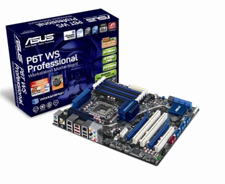 Ideal foundation for a weighty workstation with the ASUS P6T WS Pro