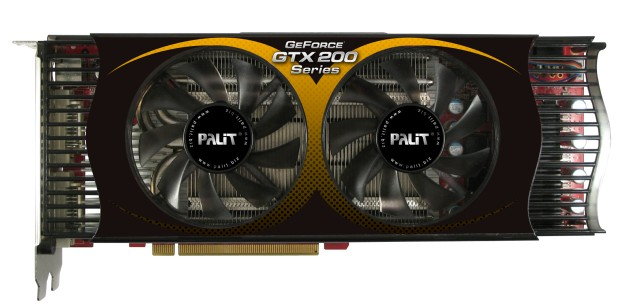 Palit is the first to ship GTX275 in the market.