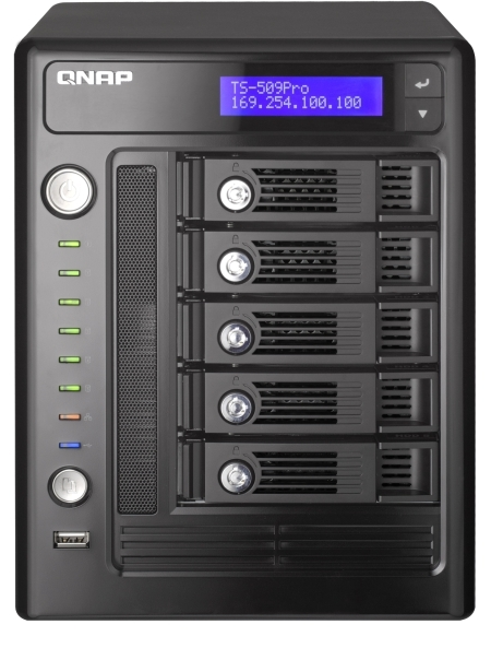 QNAP Announces TS-509 Pro Turbo NAS