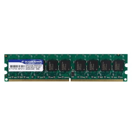 Silicon-Power debuts its DDR2 800 ECC DIMMs
