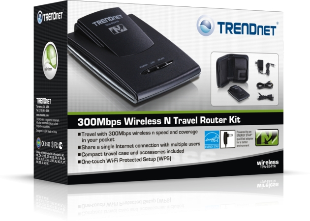 World's Smallest Wireless N Travel Router Now Available from TRENDnet