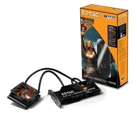 ZOTAC chills GeForce 9800GTX+