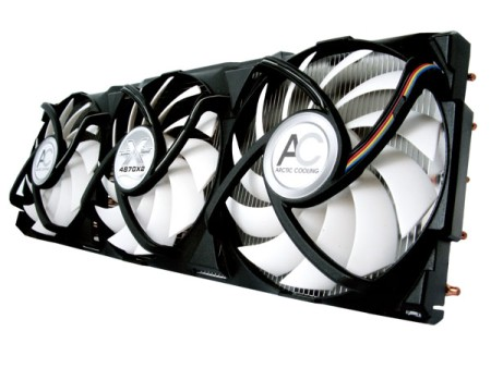 Arctic Cooling Unleashes the Accelero XTREME 4870X2 Cooler