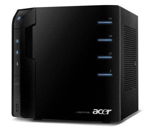 New Acer® Aspire easyStore Home Server Provides Access to Family's Digital Data From Anywhere in the World