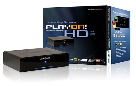 AC Ryan releases Playon!HD FullHD Network Mediaplayer