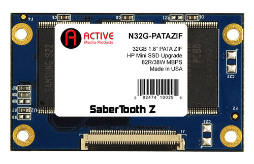 Active Media Products Ships 1.8-Inch PATA ZIF SSD Upgrade for HP Mini