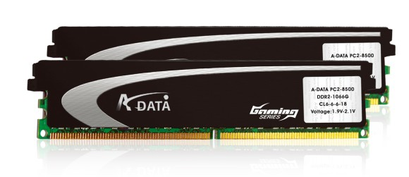 A-DATA Introduces XPG Gaming Series Memory, now in DDR2-1066