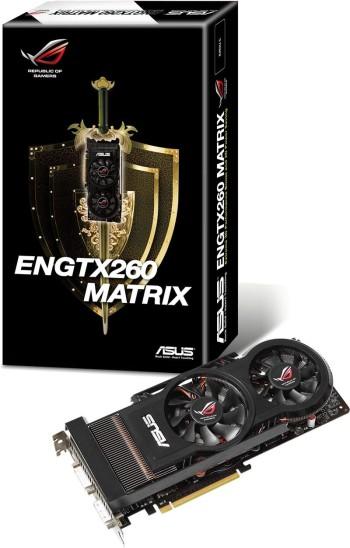 ASUS Introduces ROG ENGTX260 MATRIX Graphics Card
