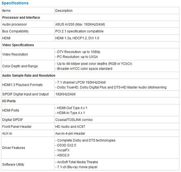 ASUS Unveils New Xonar HDAV1.3 Slim Sound Card