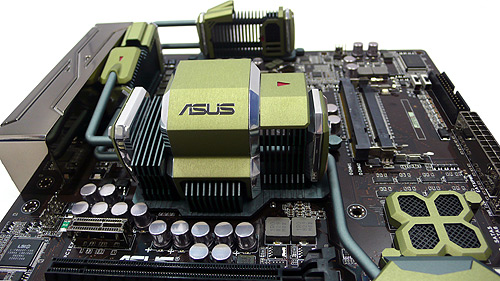 ASUS Marine Cool Concept Motherboard Utilizes Breakthrough Innovations in Materials-Ceramic and Metal-for Exceptional Cooling