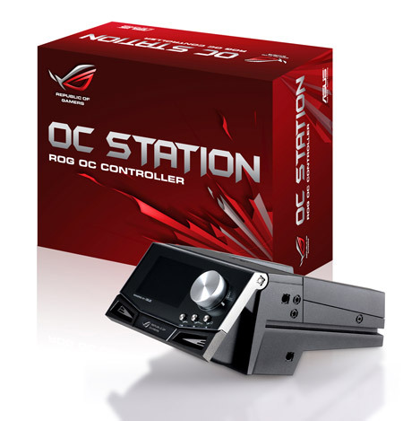 ASUS Presents Republic of Gamers OC Station