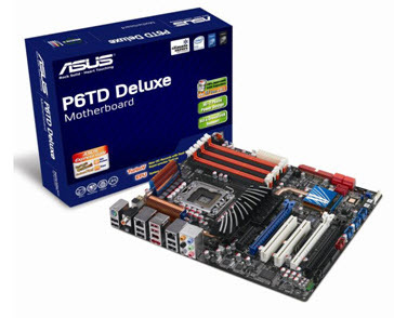 Asus Launches First Xtreme Design Series Motherboard - P6TD Deluxe