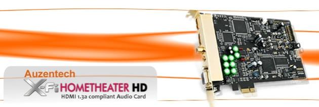 X-Fi HomeTheater HD Release Dates