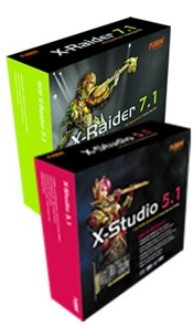 Auzentech Releases X-Raider and X-Studio Sound Cards, Available Now