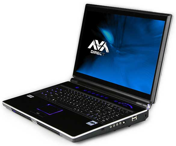 AVADirect.com Starts Selling World's Most Powerful Gaming Notebook