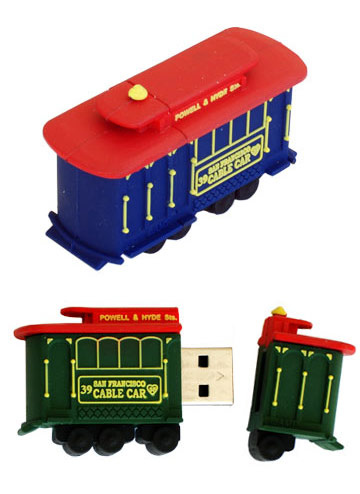 Active Media Products Ships Cable Car USB Drive in 16GB Capacity