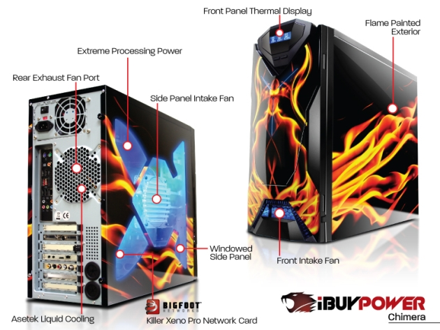 iBUYPOWER Launches Chimera Killer Special Edition Gaming PC