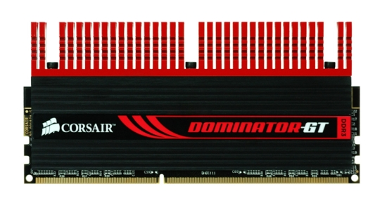 New Extended Cooling Fins give Corsair® DominatorTM Memory Aggressive New Look