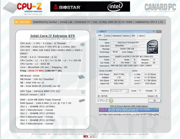 Corsair Dominator GT DDR3 Memory Hits 2533MHz, Sets World Record for DDR3 Memory Frequency