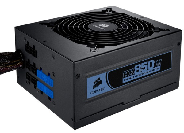 Corsair Launches Energy-Efficient High-Performance Modular 850W and 750W Power Supplies