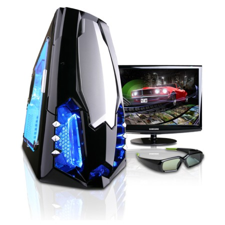 CyberPower Announces New Gaming Systems with NVIDIA GeForce 3D Vision Technology