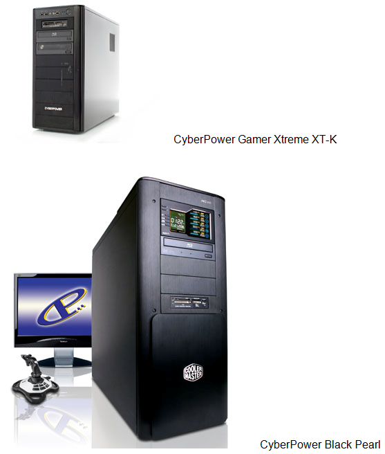 CyberPower Scores a Pair of