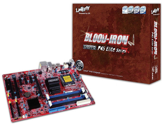 DFI Announces Blood Iron P45-T2(R)S Elite Series, The Most Affordable OC Motherboard