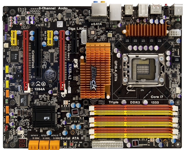 ECS Launches X58B-A2 Black Series Motherboard for Overclocking Beginners