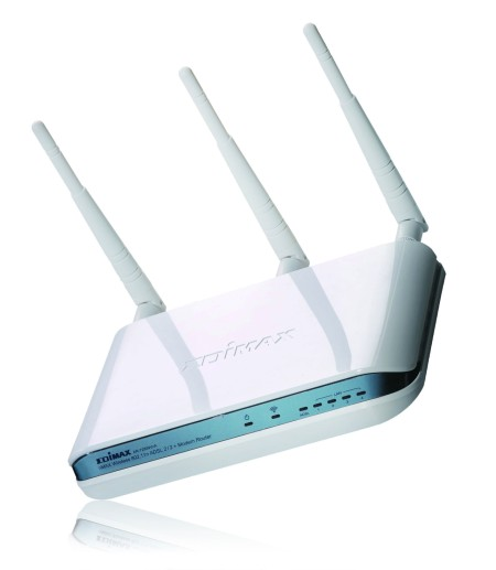 Edimax introduces nMax wireless 802.11n Modem Router