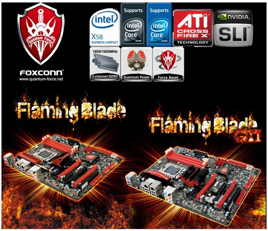 Flaming Blade brothers born to make Foxconn Quantum Force family more accessible