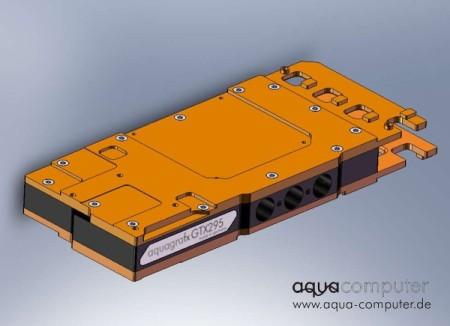 Aqua Computer Announces Waterblocks for the GTX295 and GT200b