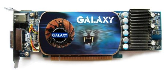 GALAXY to launch exclusive 9600GT LP LP