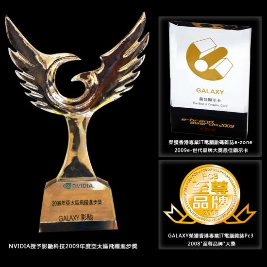 Award-Winning endorse GALAXY success in APAC