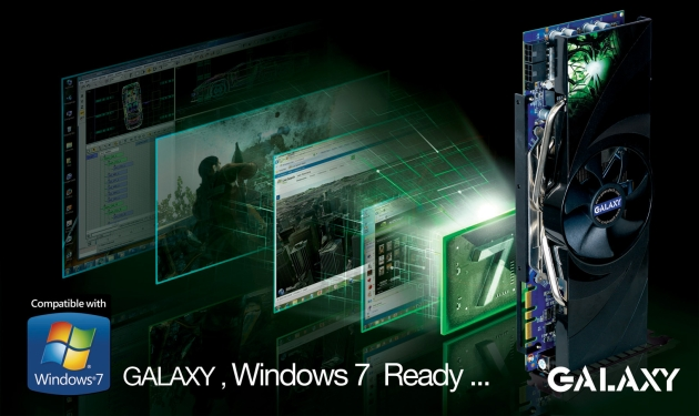 GALAXY announces the entire product-lines obtained windows7 certification