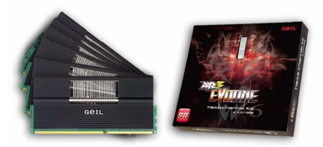 GeIL DDR3 GAMING SERIES EVO ONE - HEXA-CHANNEL KIT